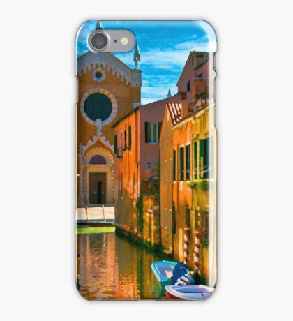 Italy. Venice motorway iPhone Case/Skin