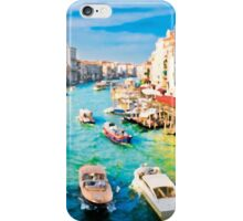 Italy. Venice Boat way iPhone Case/Skin