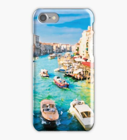 Italy. Venice Boat way iPhone Case/Skin