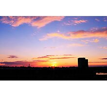 Sunset over Packard  Photographic Print