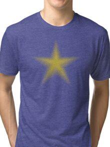 Gold Star Halftone Tri-blend T-Shirt