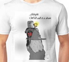 Alright. We'll Call it a draw.  Unisex T-Shirt