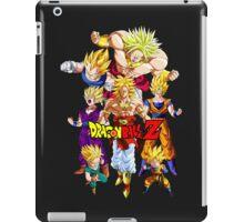 Dragon Ball Z All Star Super Saiyan V2 - frieza, Vegeta & Broly iPad Case/Skin