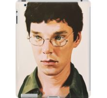 Benedict Cumberbatch digital portait iPad Case/Skin