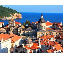 Croatia Downtown Photographic Print