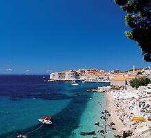 Croatia by the Beach by JessicaRoss