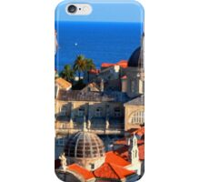 Croatia Downtown iPhone Case/Skin