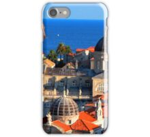 Croatia Downtown iPhone Case/Skin
