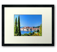 Croatia Treescape Framed Print