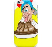 LICK PLATE CLEAN CARTOON iPhone Case/Skin