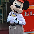 Newsboy Mickey! by Lexie  Ramos