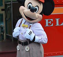 Newsboy Mickey! by Lexie  Ramos