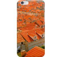 Croatia Buildingtops iPhone Case/Skin