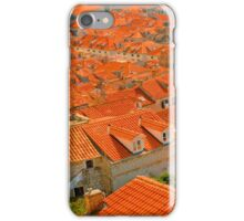 Croatia Buildingtops iPhone Case/Skin
