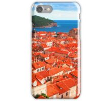 Croatia Rooftops iPhone Case/Skin