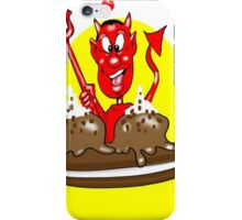 DEVIL CARTOON CHARACTER iPhone Case/Skin