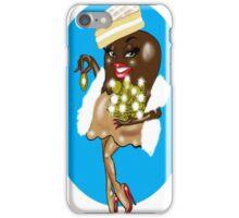 SEXY WOMAN CARTOON iPhone Case/Skin