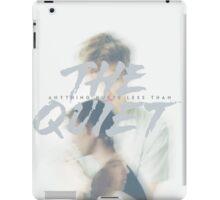 The quiet iPad Case/Skin