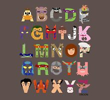 Teenage Mutant Ninja Turtle Alphabet Unisex T-Shirt