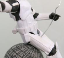 Stormtropper Wrecking Death Star Sticker