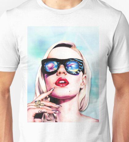 Iggy Azalea- Blue Unisex T-Shirt