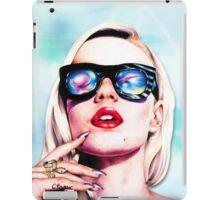 Iggy Azalea- Blue iPad Case/Skin