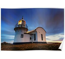 Tacking Point Lighthouse - Dusk Poster