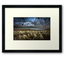 South Georgia Landscape Framed Print