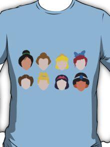 All the Princesses T-Shirt