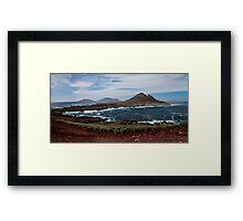 Steeple Jason Falkland islands Framed Print