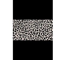 Leopard National Flag VI Photographic Print
