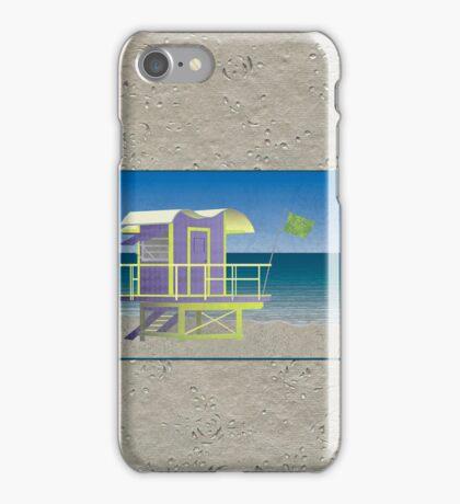 Lifeguard Platform iPhone Case/Skin