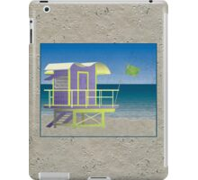 Lifeguard Platform iPad Case/Skin