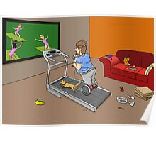 Segway Workout Poster