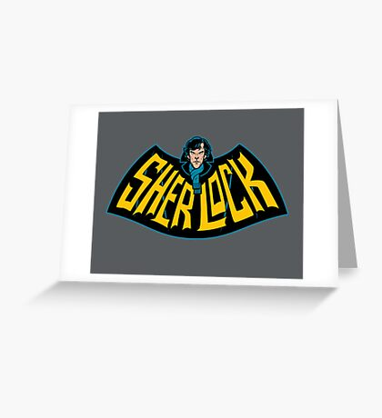 Sherlock Logo Greeting Card