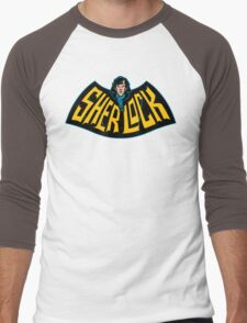 Sherlock Logo Men's Baseball ¾ T-Shirt