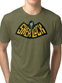 Sherlock Logo Tri-blend T-Shirt