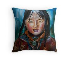 Redness From the Plateau  Throw Pillow
