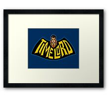 Time Lord Logo Framed Print