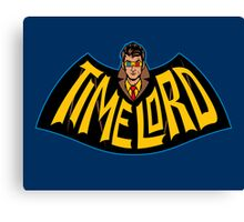 Time Lord Logo Canvas Print