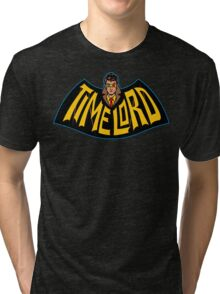 Time Lord Logo Tri-blend T-Shirt