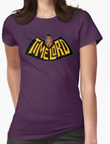 Time Lord Logo Womens Fitted T-Shirt