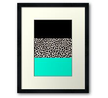 Leopard National Flag VII Framed Print