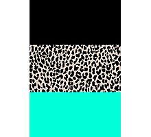 Leopard National Flag VII Photographic Print