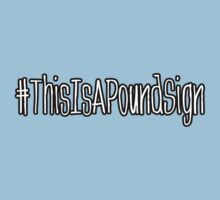 This is a Pound Sign by SgtGrammar