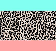Leopard National Flag VIII by Mary Nesrala