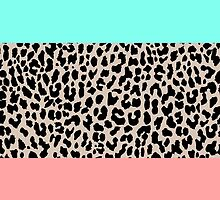 Leopard National Flag VIII by M Studio Designs