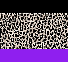 Leopard National Flag IX by Mary Nesrala