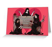 GallowsHumor Valentines05 Greeting Card