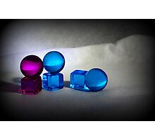Cubes & Spheres Photographic Print